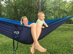 Billy B. verified customer review of Double Lightweight Camping Hammock & Tree Straps
