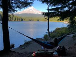 Lauren H. verified customer review of Double Lightweight Camping Hammock & Tree Straps