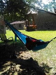 Krystal A. verified customer review of Double Lightweight Camping Hammock & Tree Straps