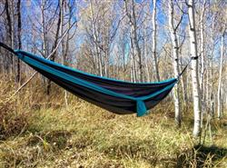 - Newly Redesigned - Double Lightweight Camping Hammock & Tree Straps