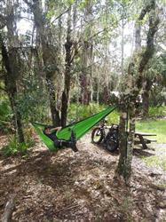 James V. verified customer review of Double Lightweight Camping Hammock & Tree Straps