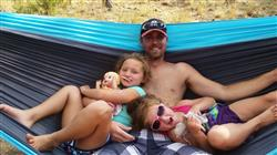 Kelli K. verified customer review of Double Lightweight Camping Hammock & Tree Straps