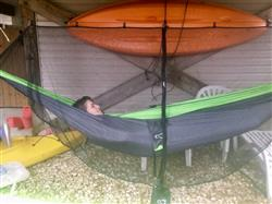 Lee M. verified customer review of Universal Camping Hammock Mosquito Bug Net
