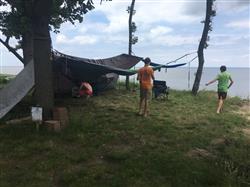 Elizabeth m. verified customer review of Universal Camping Hammock Mosquito & Bug Net