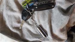 Martin I. verified customer review of Waterproof Keyring Flint Capsule Match Lighter