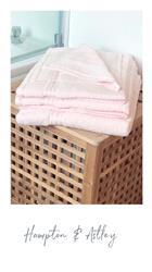 Jessica H. verified customer review of Hampton and Astley 100% Egyptian Cotton 7 Piece Luxury Bath Towel Set, Charcoal Dark Grey