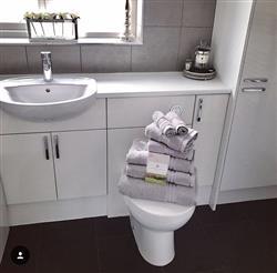 Gemma B. verified customer review of Hampton and Astley 100% Egyptian Cotton 7 Piece Luxury Bath Towel Set, Subtle Grey