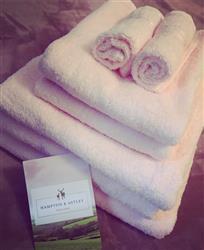 Morgan B. verified customer review of Hampton and Astley 100% Egyptian Cotton 7 Piece Luxury Bath Towel Set, Pink