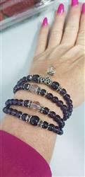 Angela J. verified customer review of Buddhist Amethyst Mala Bracelet/Necklace (108 Beads)