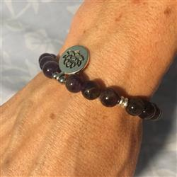 Tiffany S. verified customer review of Amethyst Crown Chakra Bracelet