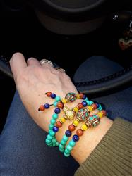 Michele A. verified customer review of Turquoise Protection Mala