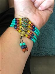 Lisa E. verified customer review of Turquoise Protection Mala