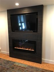 """Juliet B. verified customer review of Sideline 45 80025 45"""" Recessed Electric Fireplace"""
