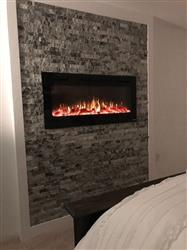 Robert A. verified customer review of Sideline 45 80025 45 Recessed Electric Fireplace