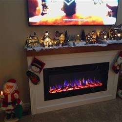 Joel S. verified customer review of Sideline 45 80025 45 Recessed Electric Fireplace