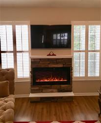 David Patterson verified customer review of Sideline 45 80025 45 Recessed Electric Fireplace