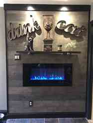 """Dawn verified customer review of ValueLine 42 80030 42"""" Recessed Electric Fireplace"""