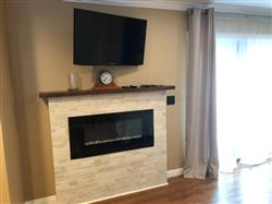 """David B. verified customer review of ValueLine 42 80030 42"""" Recessed Electric Fireplace"""
