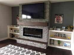 """Mike G. verified customer review of Sideline 50 80004 50"""" Recessed Electric Fireplace"""