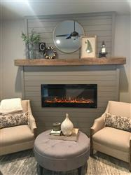 """Kellie G. verified customer review of Sideline 50 80004 50"""" Recessed Electric Fireplace"""