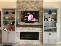 """Henry Singer II verified customer review of Sideline 50 80004 50"""" Recessed Electric Fireplace"""