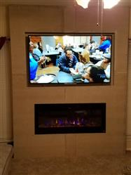 """Cody verified customer review of Sideline 50 80004 50"""" Recessed Electric Fireplace"""