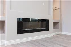 """pancho s. verified customer review of Sideline 60 80011 60"""" Recessed Electric Fireplace"""
