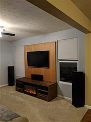 Derek Summitt verified customer review of Sideline 36 80014 36 Recessed Electric Fireplace