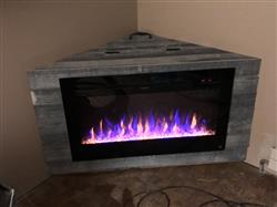 """Justin S. verified customer review of Sideline 36 80014 36"""" Recessed Electric Fireplace"""