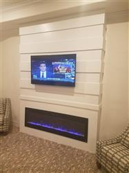 """Joel G. verified customer review of Sideline 72 80015 72"""" Recessed Electric Fireplace"""