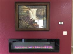 Diana C. verified customer review of ValueLine 72 80019 72 Recessed Electric Fireplace