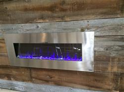 William B. verified customer review of AudioFlare 80024 Stainless 50Recessed Electric Fireplace