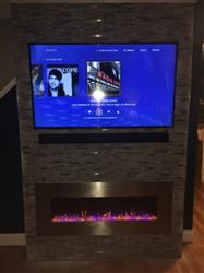 Matthew M. verified customer review of AudioFlare 80024 Stainless 50Recessed Electric Fireplace