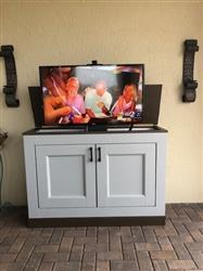 "HENRY S. verified customer review of Whisper Lift II 23202 TV Lift Mechanism for 65"" Flat screen TVs (36"" travel)"