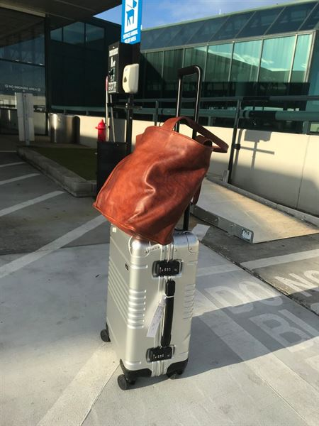 Christopher P. verified customer review of The Aluminum Carry-On