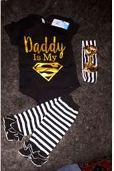 Sofia A. verified customer review of Daddy Is My Super Man Set