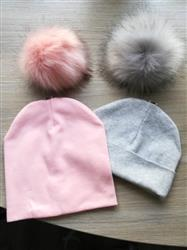 Peyton J. verified customer review of Gail Fur Ball Hat