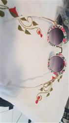 Nica R. verified customer review of Celeste Floral Sunglasses