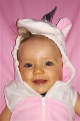 Emily C. verified customer review of Hooded Unicorn Romper