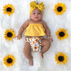 Karina verified customer review of Sunflower Top & Bloomers Set