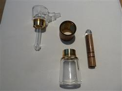 David L. verified customer review of Marley Glass and Walnut Wood Bubbler