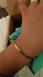 Isabel m. verified customer review of BRAZALETE  #TAKE A DEEP BREATH C/MOTITAS AZUL