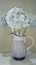 Dionne W. verified customer review of Nicola Spring Floral Hand Printed China Water Jug - Navy