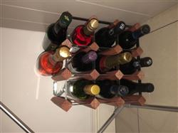 Mark A. verified customer review of Harbour Housewares 12 Bottle Wine Rack - Assembled - Dark Wood