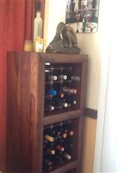 Anonymous verified customer review of Harbour Housewares 12 Bottle Wine Rack - Assembled - Dark Wood
