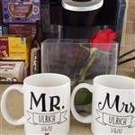 Laura U. verified customer review of Mr & Mrs Personalized Mugs (Set of Two)