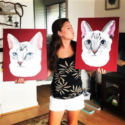 crystal t. verified customer review of Custom Canvas Print