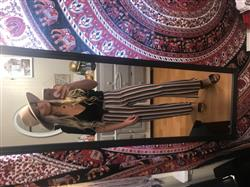 Katlynn J. verified customer review of Wilcox Multi Stripe Flare Pant