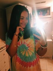 Rianna A. verified customer review of Short Sleeve Rainbow Tie Dye