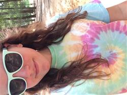 Cat E. verified customer review of Short Sleeve Rainbow Tie Dye